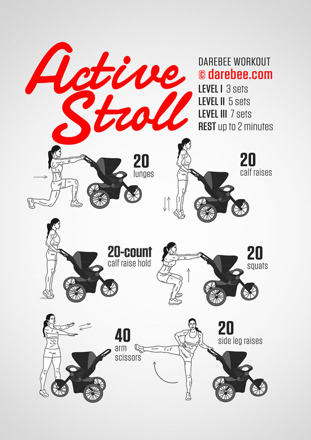 the stroller workout