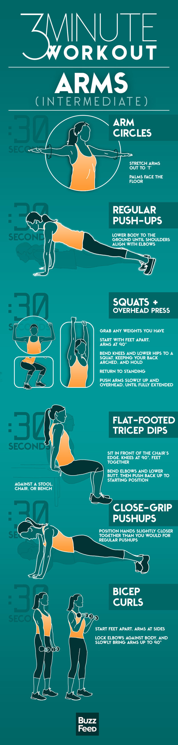 quick arms workout